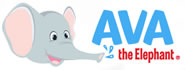 Ava The Elephant - Proudly Made in the USA